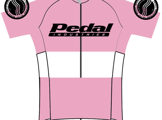 Women's PEDAL industries '19 Team SPEED JERSEY - PINK