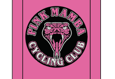 Pink Mamba Pink SUBLIMATED SOCK - SHIPS IN ABOUT 4 WEEKS