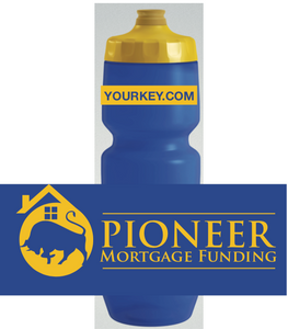 Pioneer Mortgage Funding 2019 Waterbottle 26oz Purist