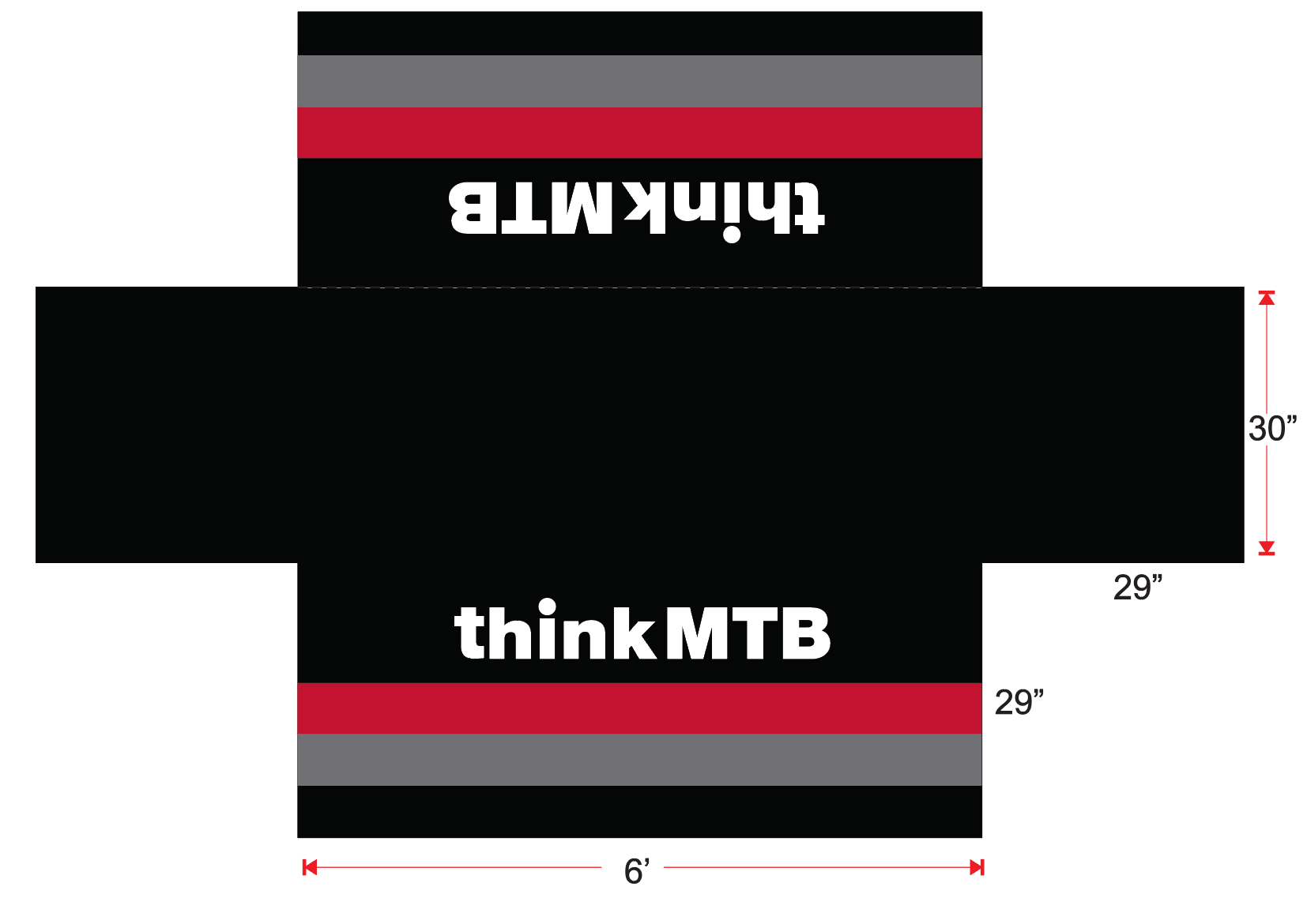 Think MTB Table Cloth