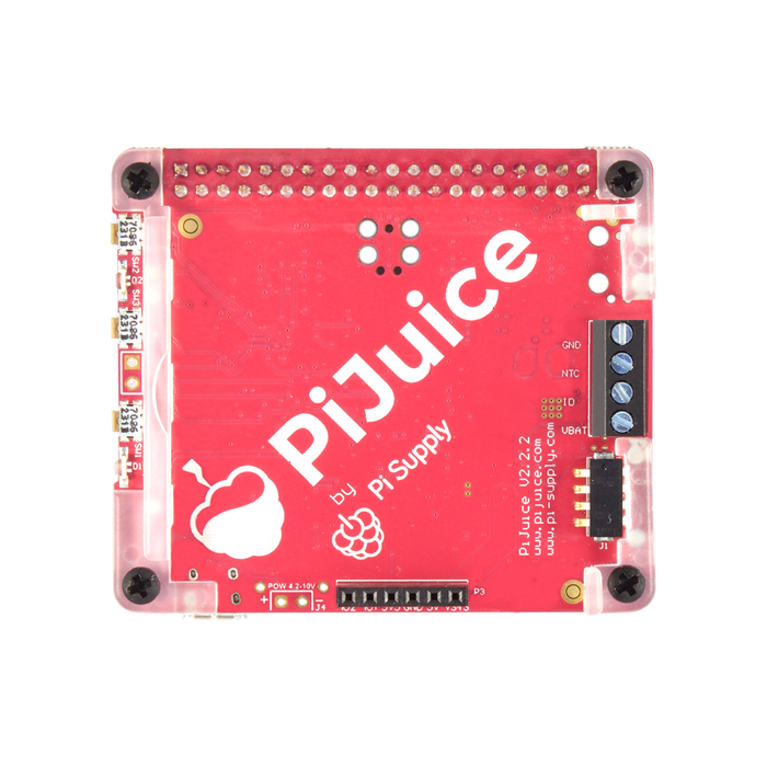 PiJuice HAT for Raspberry Pi