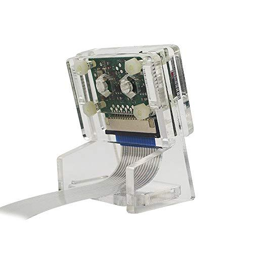 Transparent Camera Holder for Raspberry Pi 5MP V2 and Mini OV5647