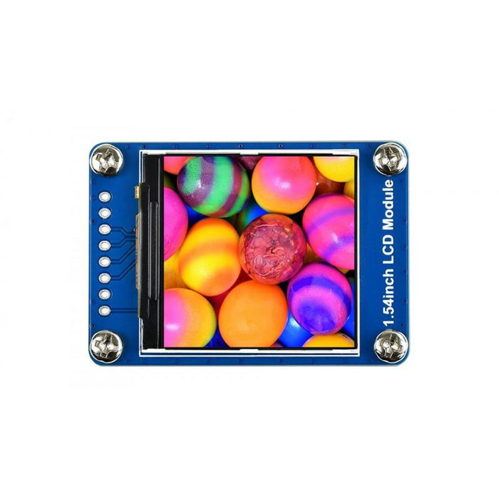 240x240p 1.54 inch 65K RGB IPS LCD ST7789 Driver SPI Interface Low Power 3.3V 5V
