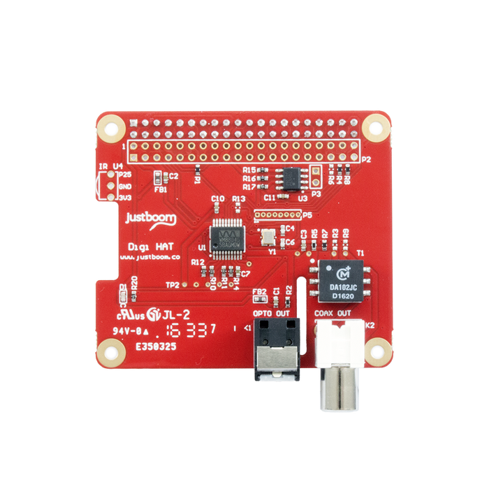 JustBoom Digit HAT for Raspberry Pi