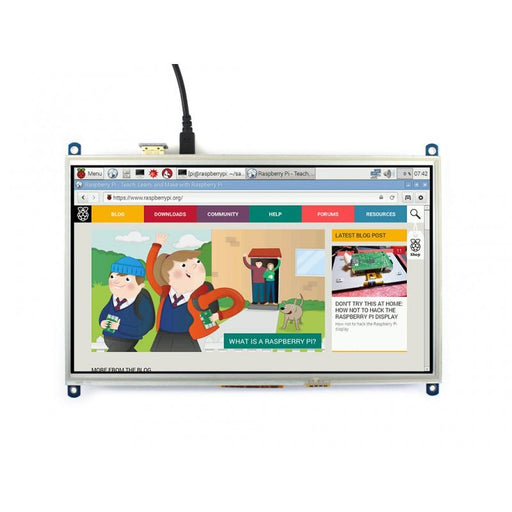 10.1 Inch HDMI LCD for Raspberry Pi 1024x600p