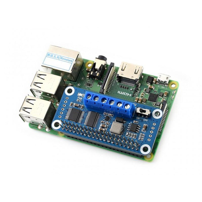 Raspberry Pi Motor Driver HAT (I2C Interface)