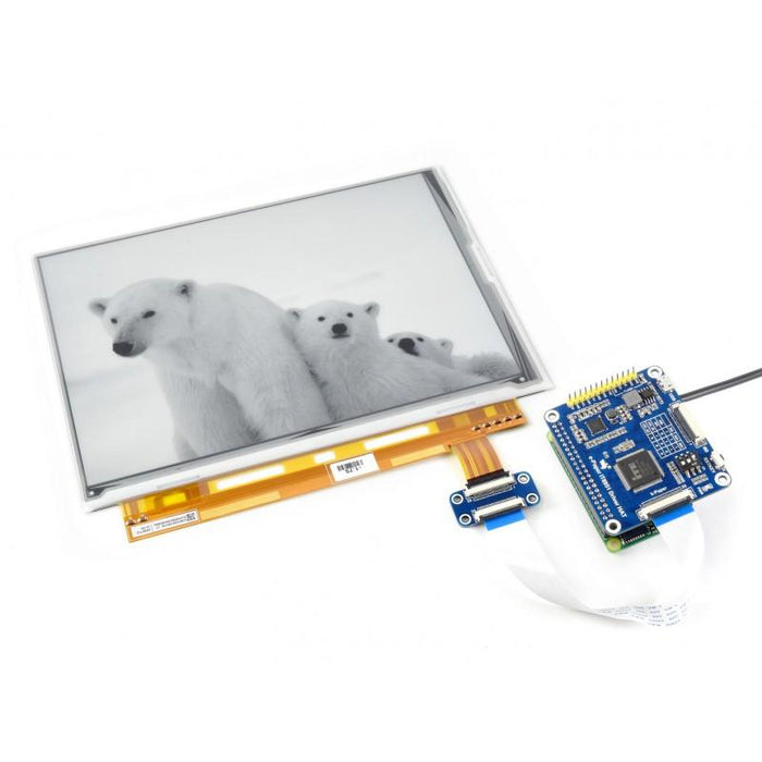 9.7 Inch E Ink Display HAT for Raspberry Pi 1200x825p