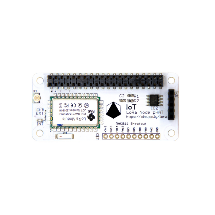 IoT Multi  Frequencies LoRa Node pHAT for Raspberry Pi