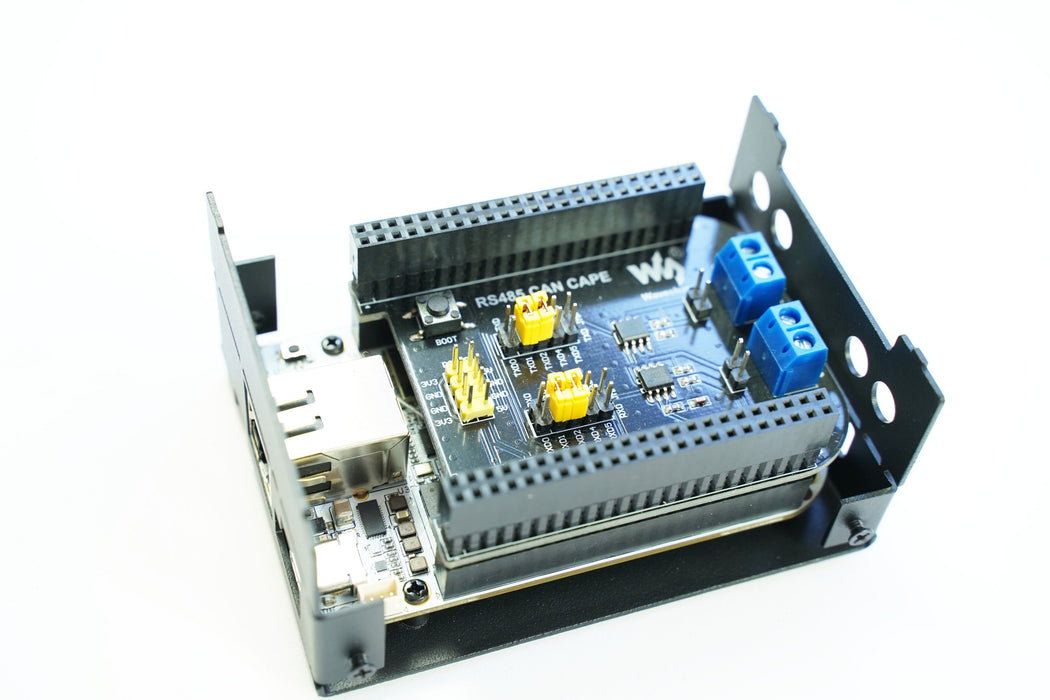 KKSB Steel Case for BeagleBone Black and BeagleBone AI with Space for Most CAPES