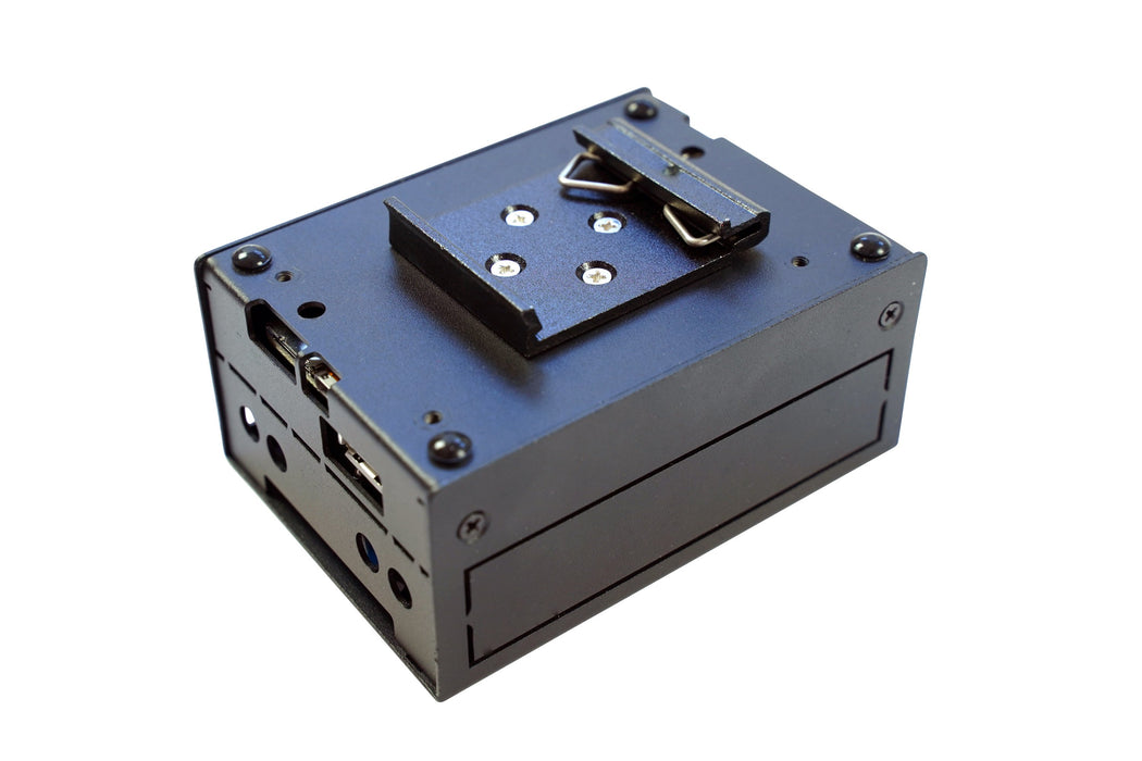 KKSB Steel Case for BeagleBone Black and AI with DIN Rail Clip
