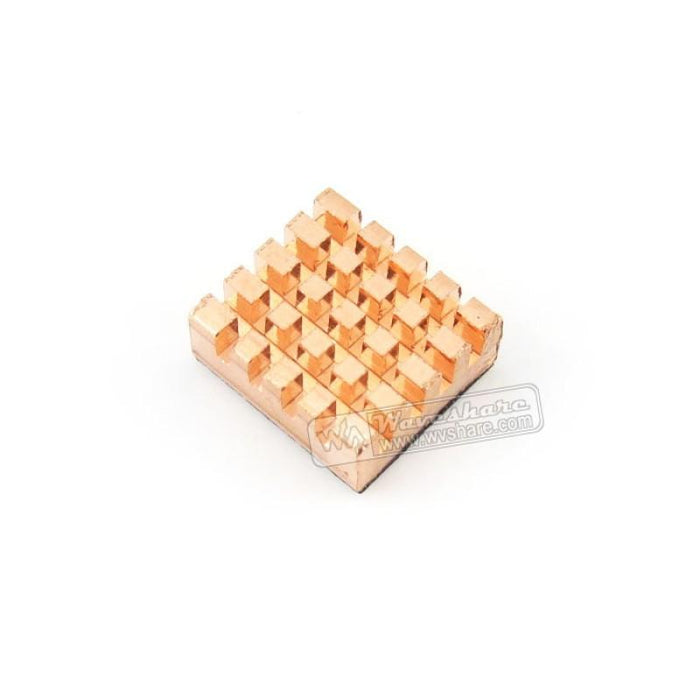 Copper Heat Sink with Adhesive Sticker