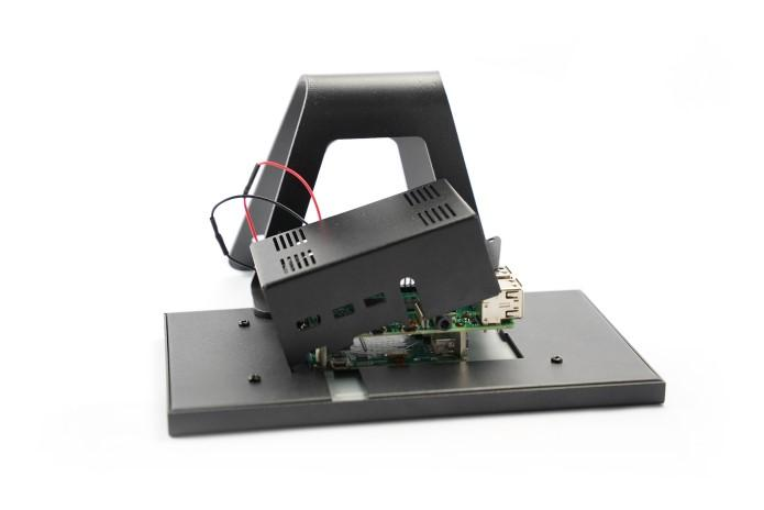 KKSB Raspberry Pi 4 Display Stand for Official 7 Inch Raspberry Pi Touch Screen