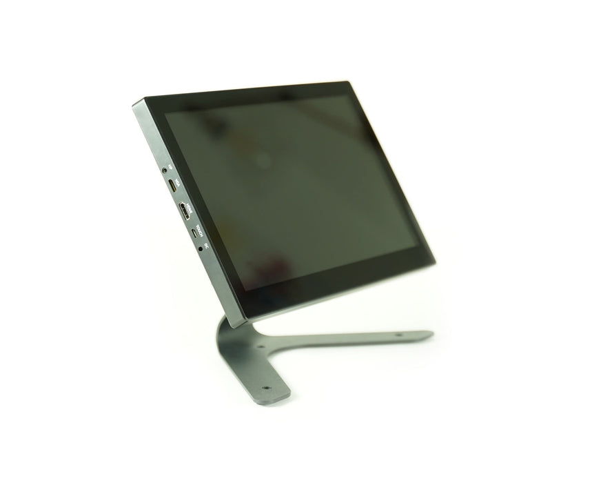 KKSB Display Stand with 13 Inch Waveshare HDMI LCD and KKSB Case for Raspberry Pi 4