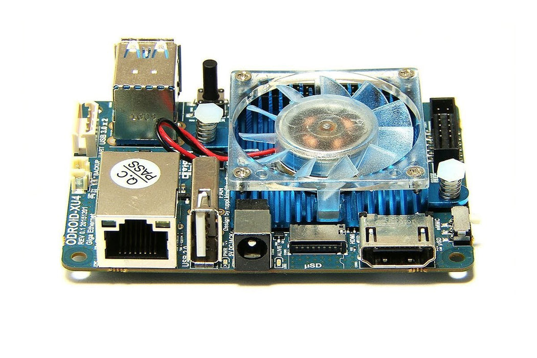 Odroid XU4 with Cooling Fan