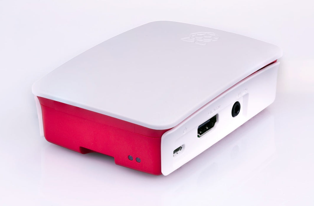 Raspberry Pi 3 Case (Pink and White Shell)