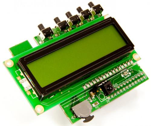 PiFace Control and Display 2 for Raspberry Pi 2B, B+, and A+