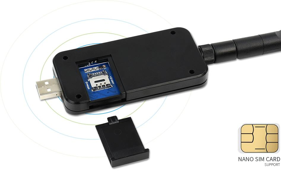 SIM7600G H 4G DONGLE GNSS Positioning Global Band Support