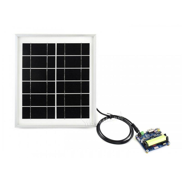 6V 5W Solar Panel 156 Monocrystalline Cell with Toughened Glass Surface