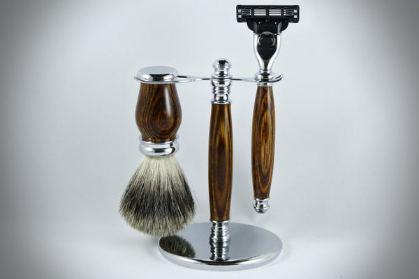 Classic Shaving Kit - Brown