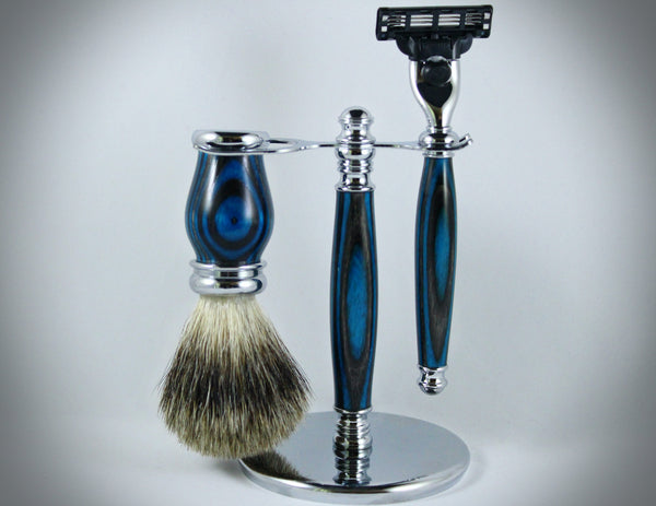 Classic Shaving Kit - Ocean Grey