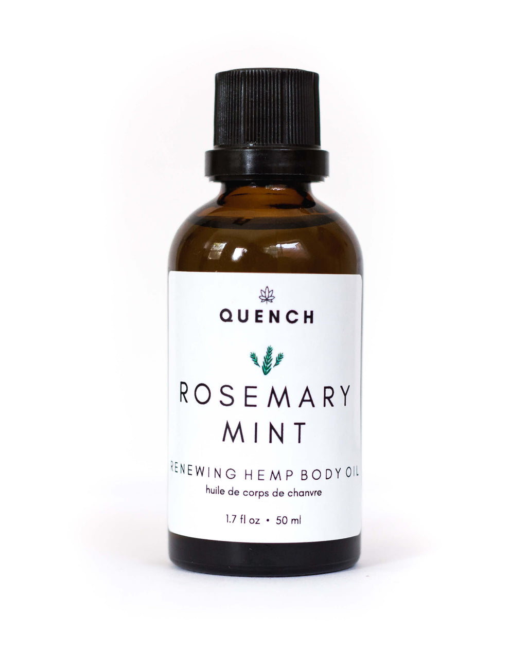 ROSEMARY MINT HEMP BODY OIL