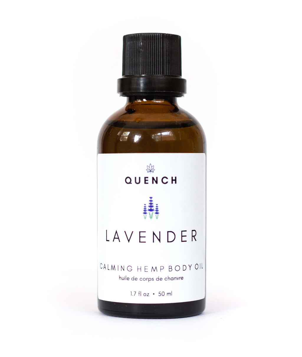 LAVENDER HEMP BODY OIL