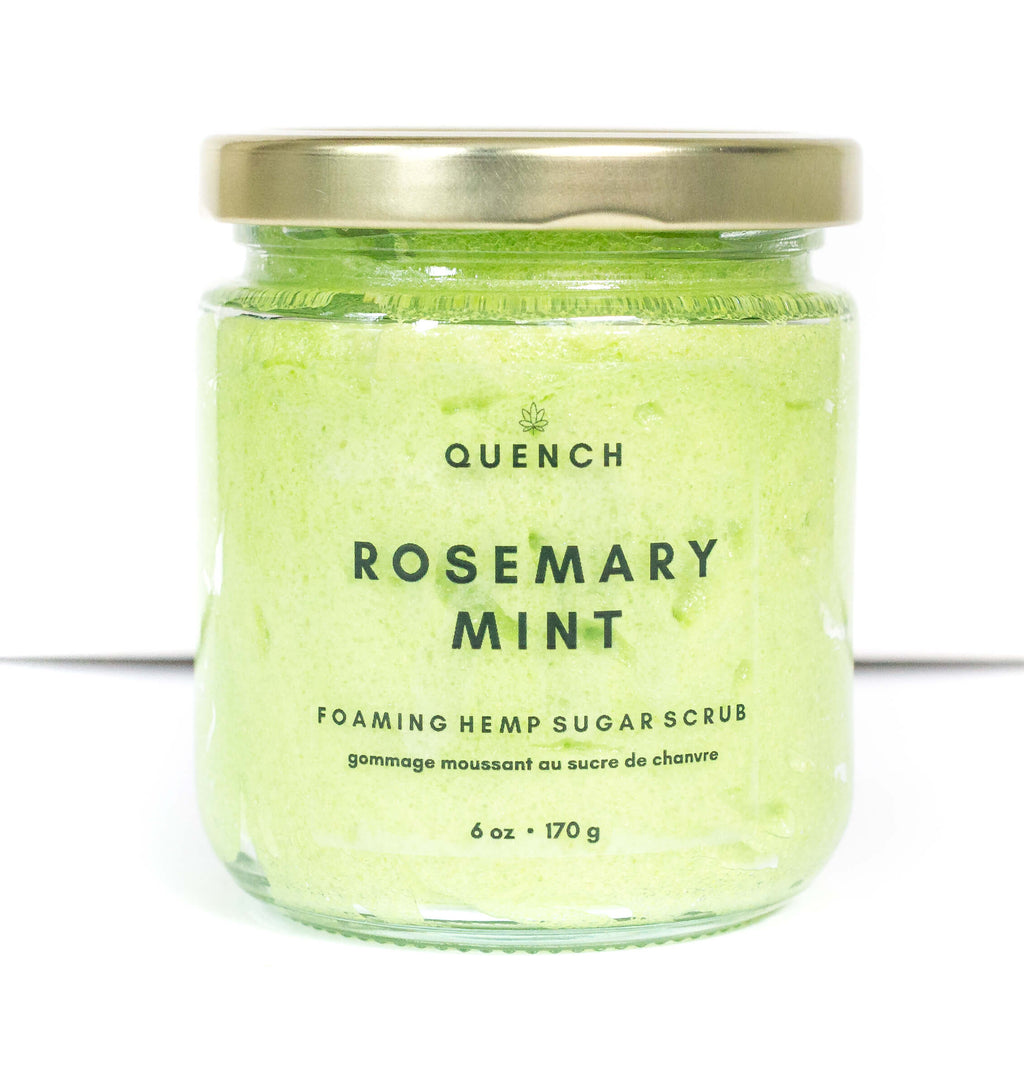ROSEMARY MINT WHIPPED SUGAR SCRUB