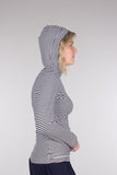 Long Sleeve hooded Bamboo top