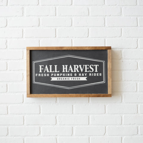Farmhouse style, fall harvest wood sign, fresh pumpkins, fall farm house sign, thanksgiving home decor, thanksgiving decor, fall decor, fall home decor