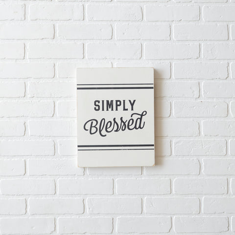 SIMPLY BLESSED - SMALL