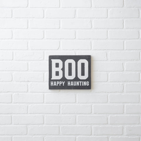 SMALL BOO HAPPY HAUNTING