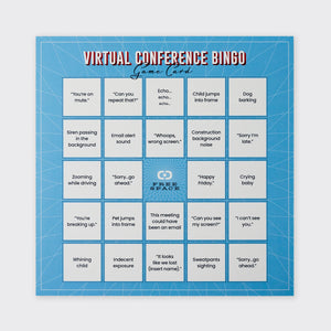 Virtual Conference Bingo Set