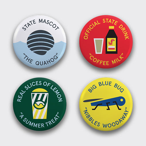 RI Culture Button Set