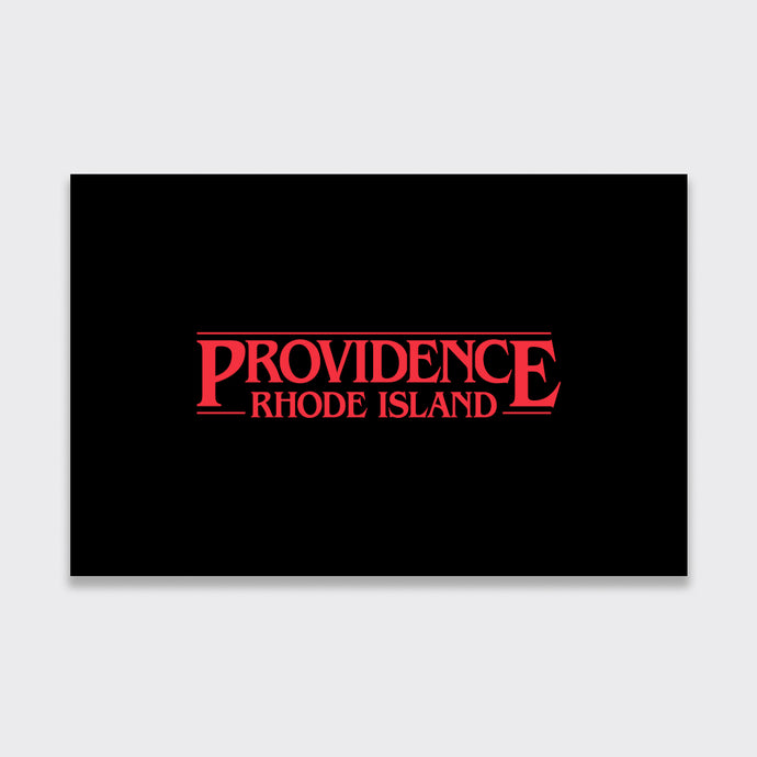 Providence Stranger Things Greeting Card (5-Pack)