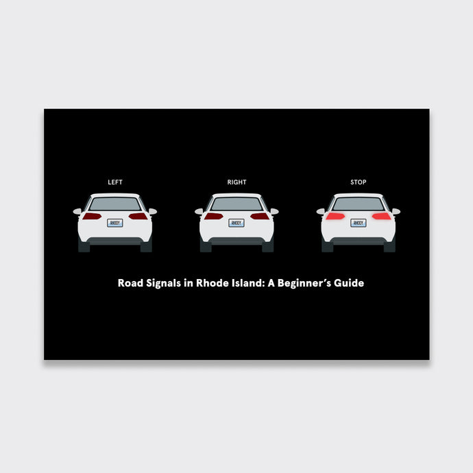 Rhode Island Rhode Signals Greeting Card (5-Pack)