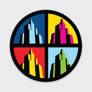 Providence Superman Building Coaster (4-Pack)