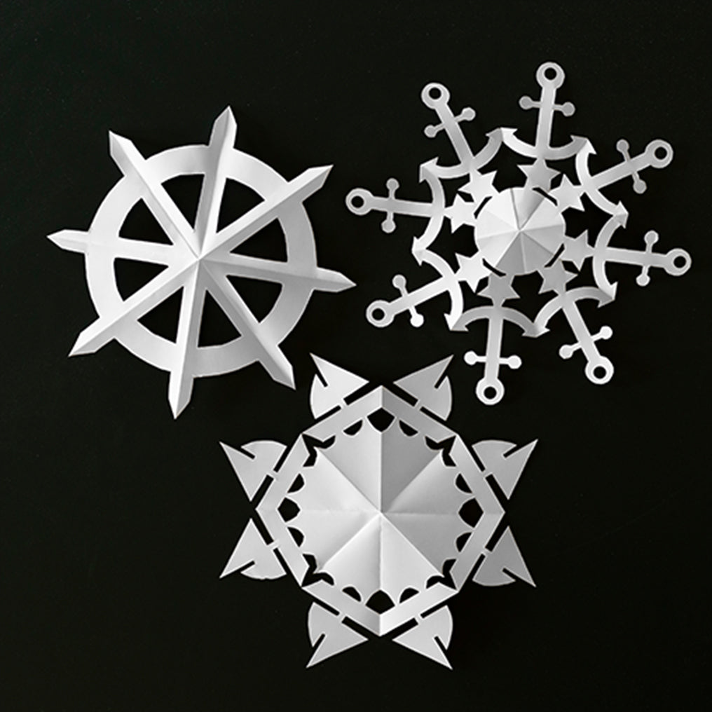Rhode Island Nautical Snowflake Templates