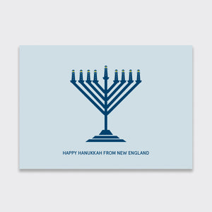 New England Hanukkah Card Pack