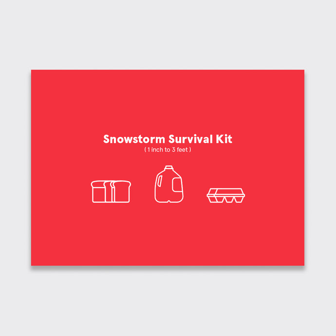Winter Survival Kit Holiday Card Pack