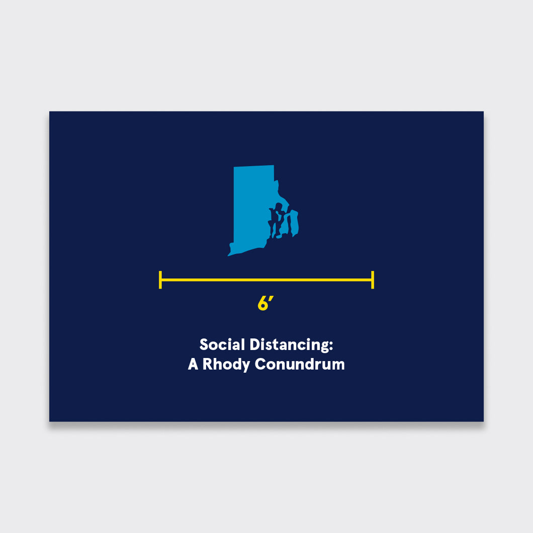 Rhody Social Distancing Card Pack