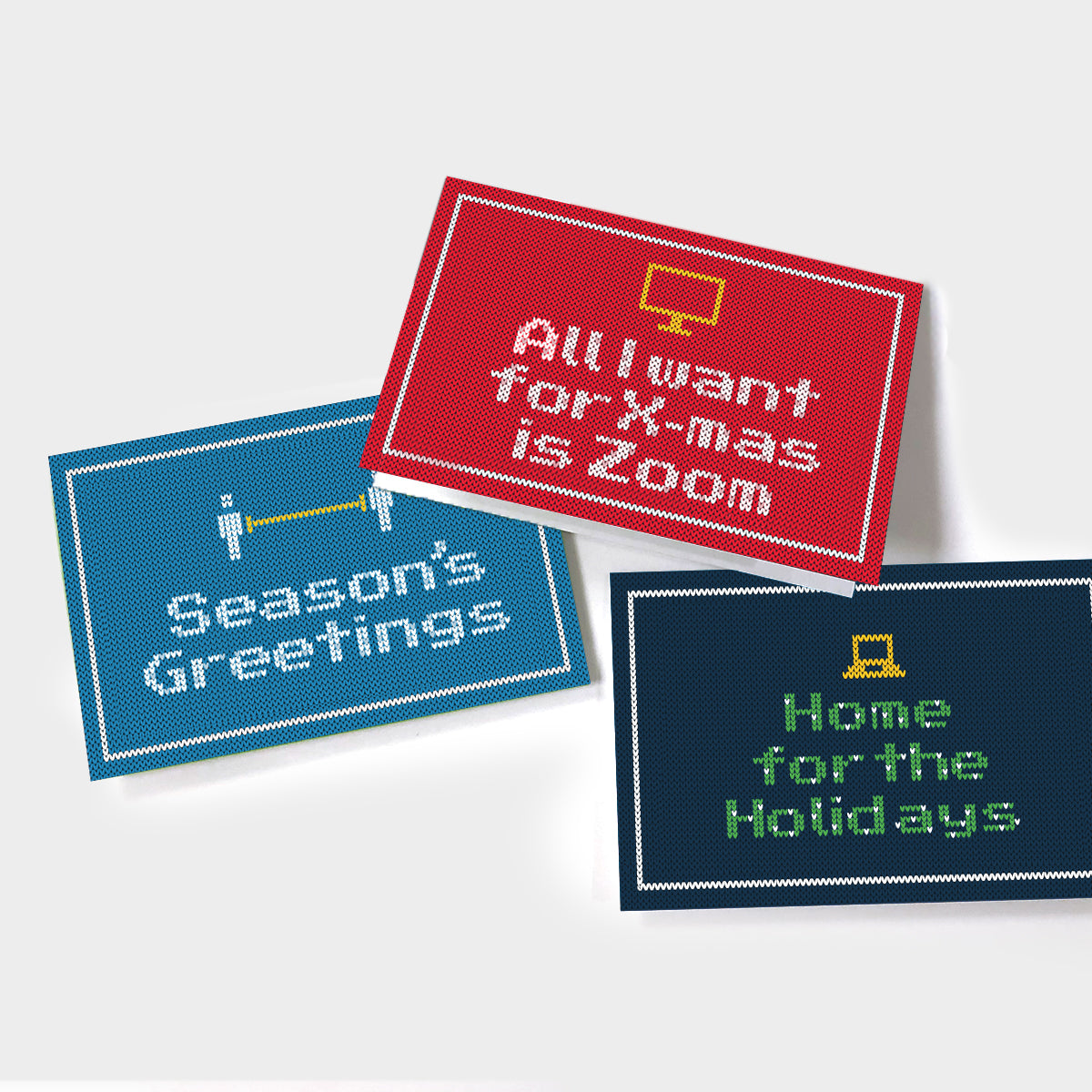 New Normal Holiday Sweater Card Pack