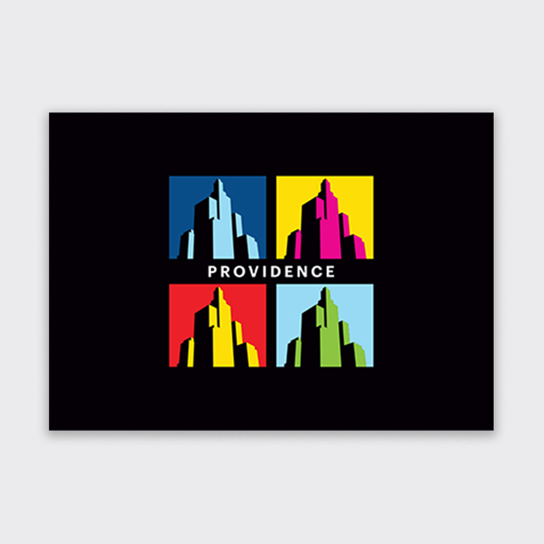 Providence Superman Building Greeting Cards (5-Pack)