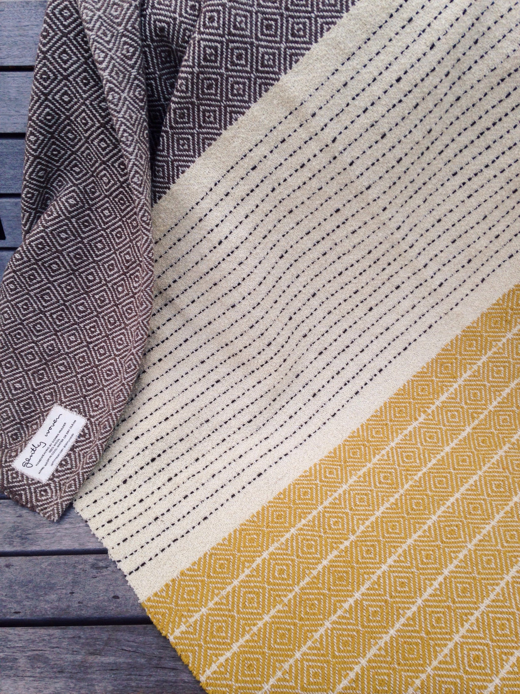 A Touch of Gold - Wool Blanket