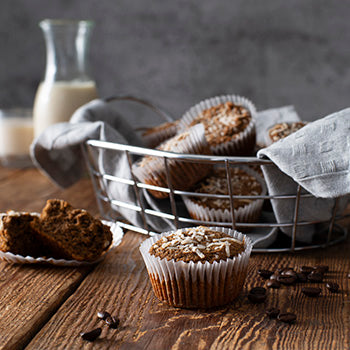 Paleo Coconut Coffee Muffins