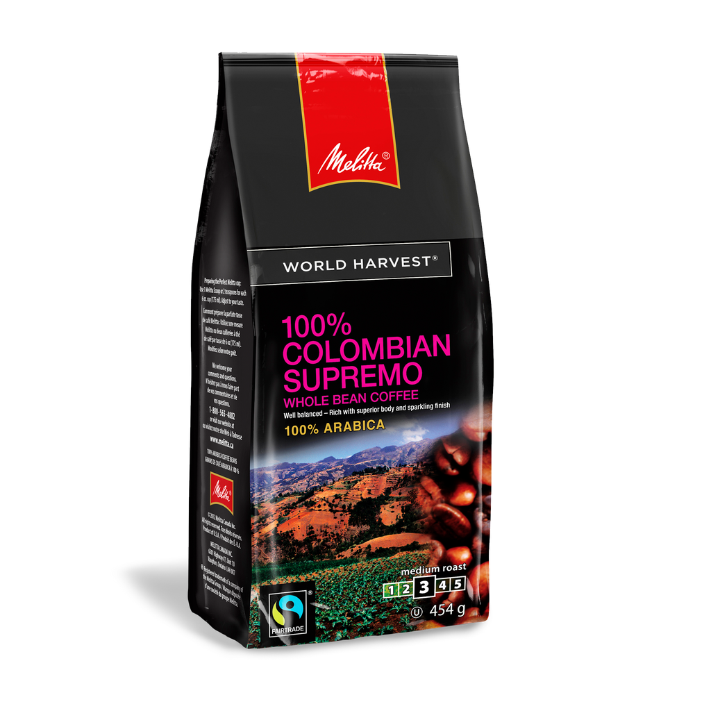 100% Colombian Supremo-Whole Bean