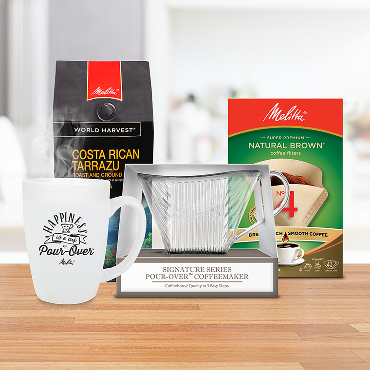 30 day Pour-Over Coffeemaker Pledge kit