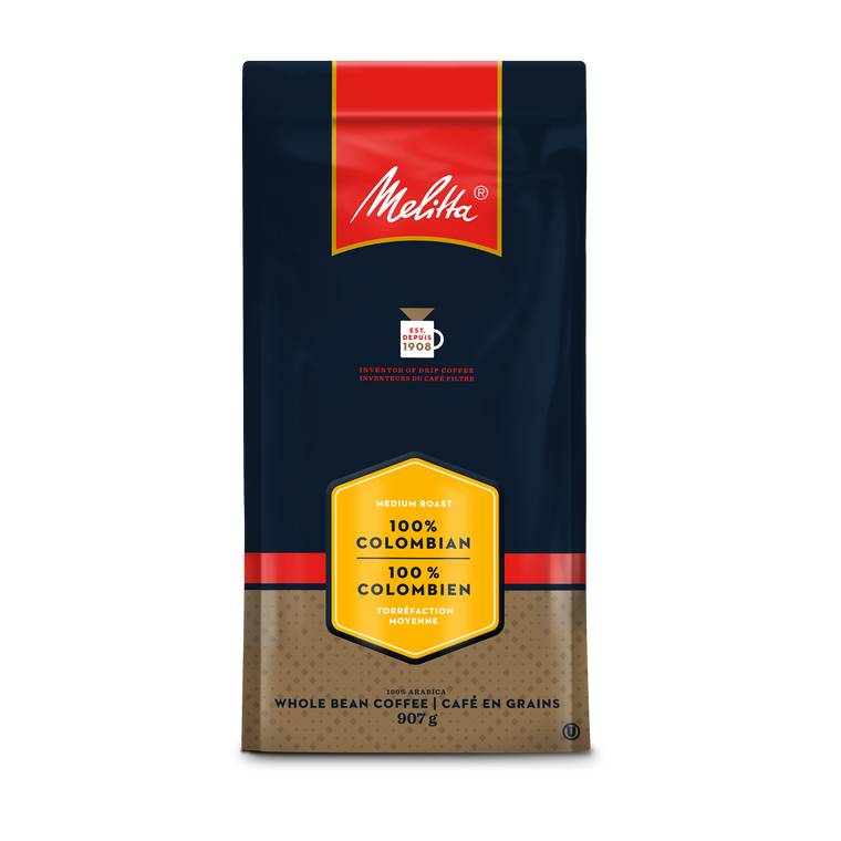 Café à grains entiers 100 % colombien 907 g