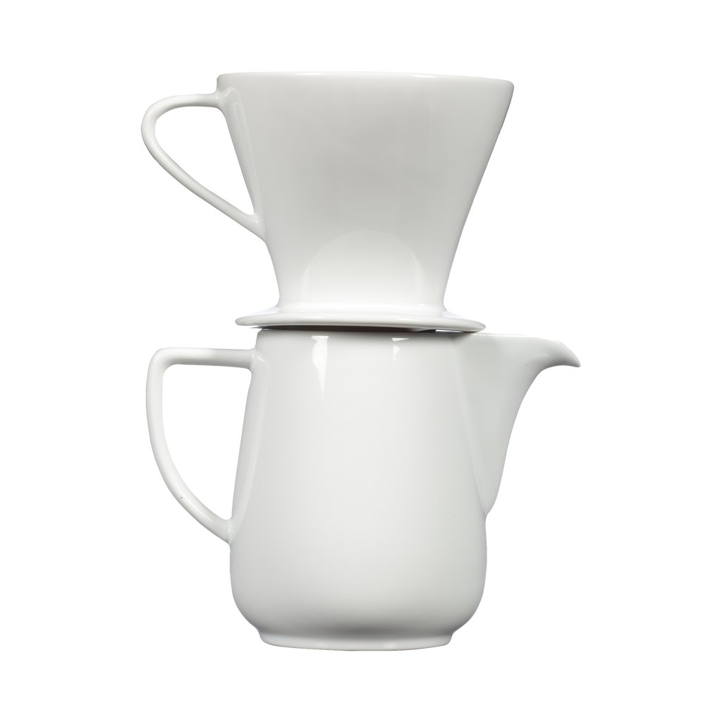 Heritage Pour-Over Unpacked- White