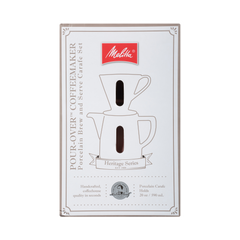 Heritage Pour-Over with Packaging- White
