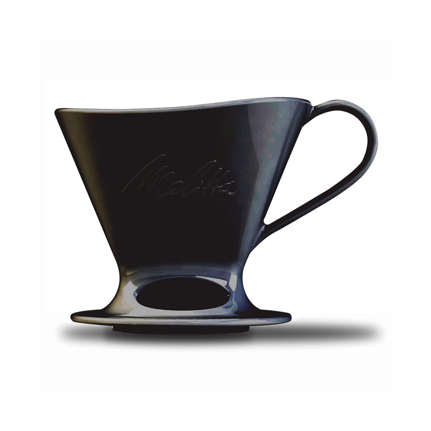 Signature Series Porcelain Pour-Over™ Coffeemaker - Black, 1-Cup